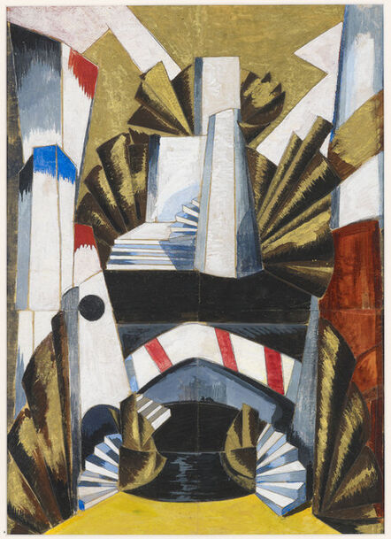 Alexandra Exter, 'Stage Design for 'Romeo and Juliet'', 1921