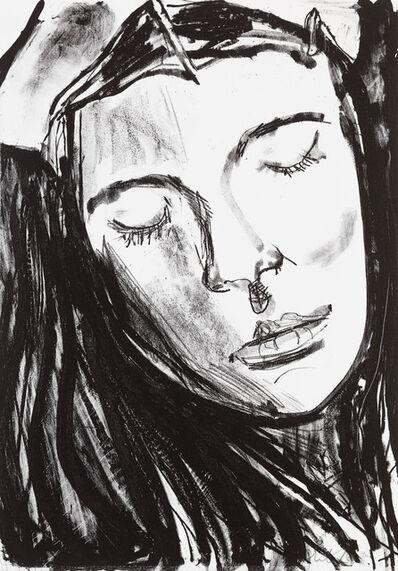Chantal Joffe, 'Esme Looking Down', 2018
