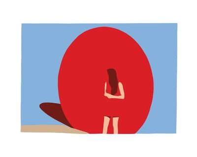 Casey Waterman, 'Red Ball', 2018
