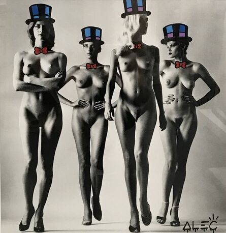 Alec Monopoly, 'Naked Tophat$', 2017