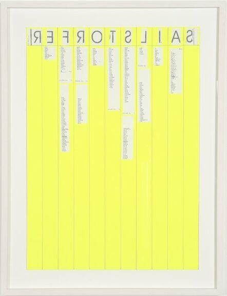Michael Sailstorfer, 'Entwurf-sailstorfer', 2007