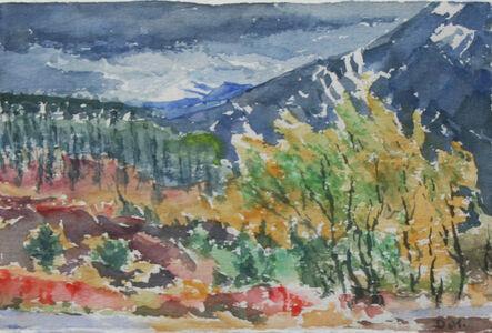 Dorothy Knowles, 'Dark Mountain'