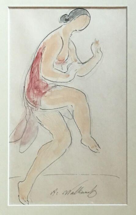 Abraham Walkowitz, 'Isadora Duncan', ca. 1910
