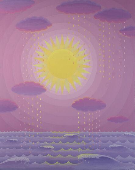 Amy Lincoln, 'Lavender Seascape', 2020