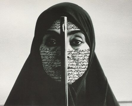 Shirin Neshat, 'Rebellious Silence from Women of Allah', 1995