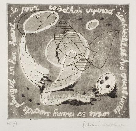 Julian Trevelyan, '...to poor tabetha...', ca. 1932