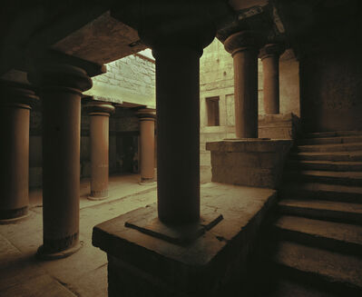 'Palace of Knossos (view of courtyard)'