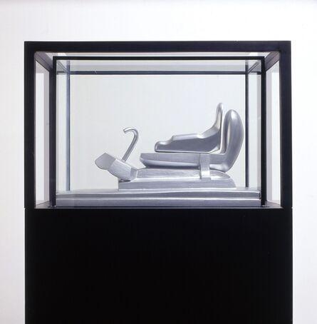 Bruno Gironcoli, 'Modell in Vitrine (Murphy)', 1968