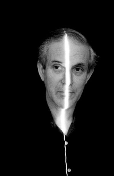 Erich Hartmann, 'Selfportrait with laser light', 1976
