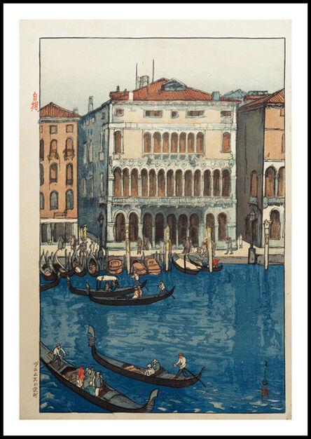 Yoshida Hiroshi, 'Venice', 1925