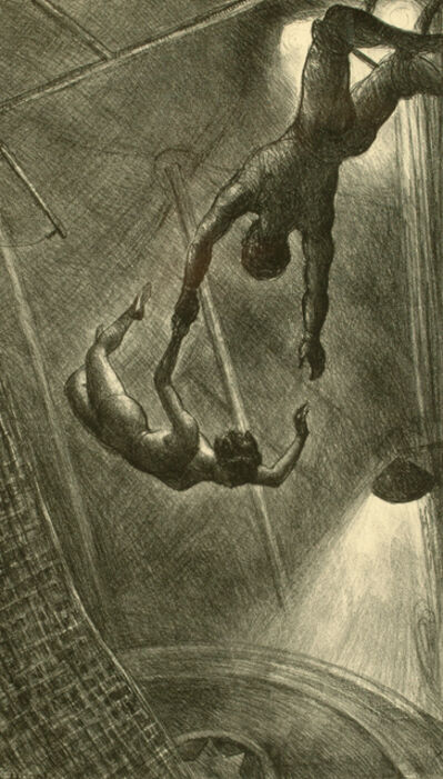 John Steuart Curry, 'The Missed Leap', 1934