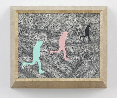 Richard Artschwager, 'Running Man (triple)', 2013