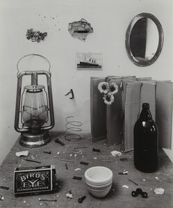Rudy Burckhardt, 'Untitled (Bird's Eye Still Life)', 1945