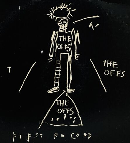 Jean-Michel Basquiat, 'Basquiat The Offs ', 1984