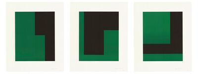 Carmen Herrera, 'Verde y Negro', 2017