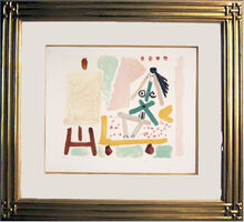 Pablo Picasso, 'Le Modele Dans L'Atelier', 1979