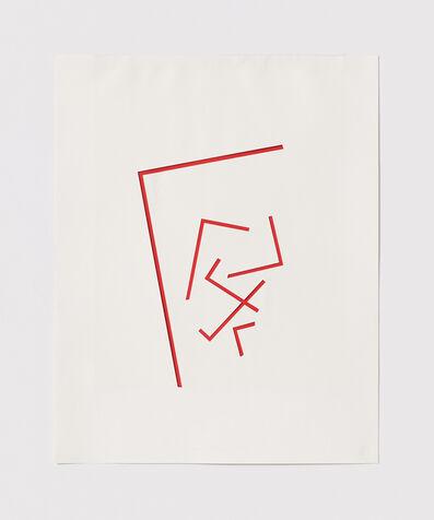 Stephen Antonakos, 'Untitled Cut, S#1', 1977
