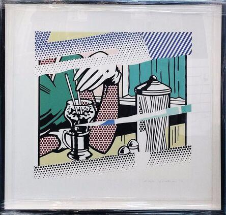 Roy Lichtenstein, 'REFLECTIONS ON SODA FOUNTAIN', 1991