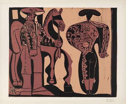Pablo Picasso, 'Picador et Torero attendant le Paseo de Cuadrillas', 1959