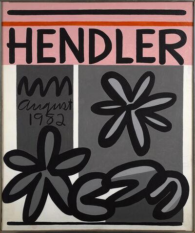 Raymond Hendler, 'Hendler August 1982', 1982