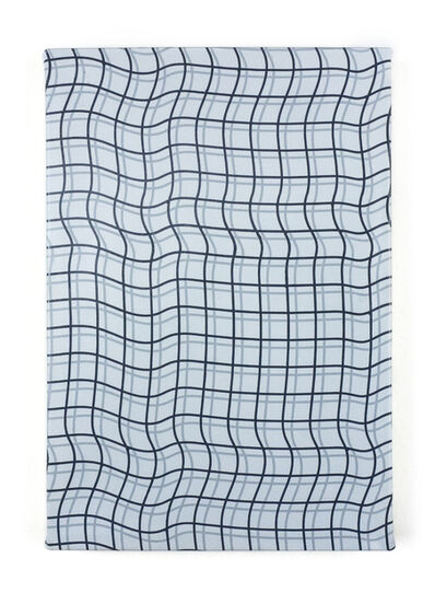 """Timothy Harding, '19"""" x 13"""", Double Grid', 2018"""