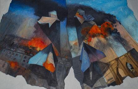 Regina Granne, 'Planes (Baghdad - New York)', 2009-2010