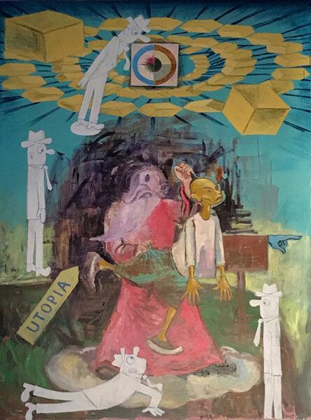 Manuel Ocampo, 'Utopian Cargo', 2017