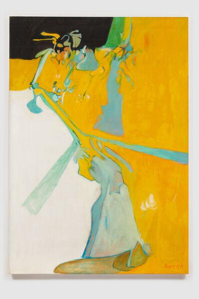 James Moore, 'Untitled I (Yellow Black)', 1971