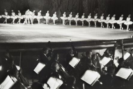 Henri Cartier-Bresson, 'Swan Lake, Bolshoi Theatre, Moscow, USSR', 1954