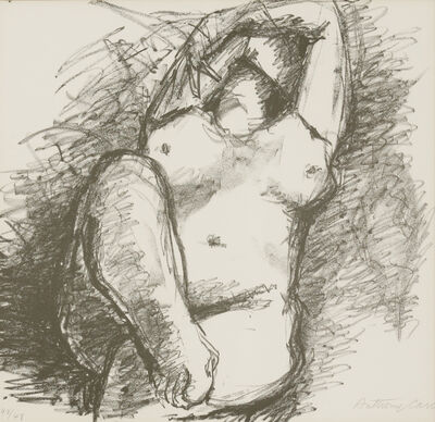 Anthony Caro, 'Nude', 1987