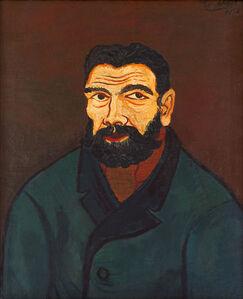 Josef Scharl, 'Mann mit schwarzem Bart', 1928