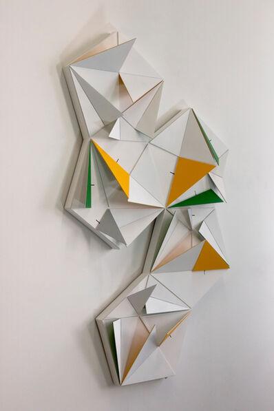 LAb[au], 'Origami Penta (10 Triangles Lagre X 10 Triangles Medium X 5 Triangles Small}', 2017