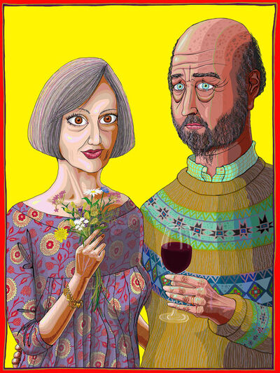 Grayson Perry, 'Julie and Rob', 2013