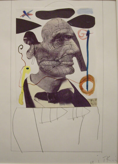 Joel-Peter Witkin, 'Lincoln Looking at Miro', 2000