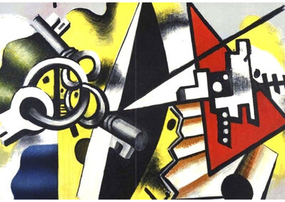 Fernand Léger, 'Nature Morte avec clefs', 1955