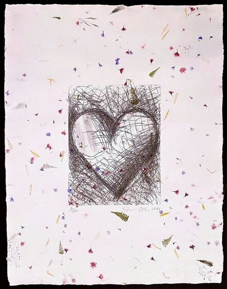 Jim Dine, 'The Jewish Heart', 1982