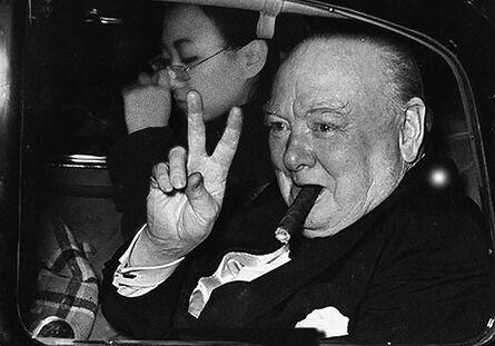 Silin Liu 刘思麟, 'Winston Churchill & Celine Liu ', 2015
