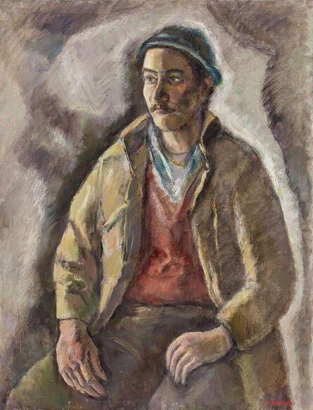 Samuel Brecher, 'Portrait of Working Class Man', Mid-20th Century
