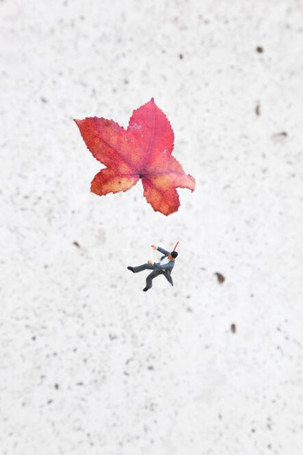 Slinkachu, 'Fall', 2014