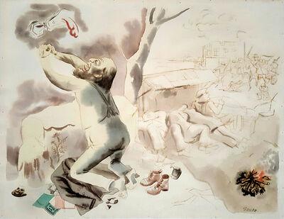 George Grosz, 'Christus am Oelberg - Christ on the Mount of Olives', 1931
