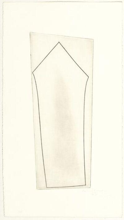 Ben Nicholson, 'Single Turkish Form', 1967