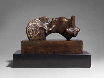 Henry Moore, 'Reclining Girl: Shell Skirt', 1980