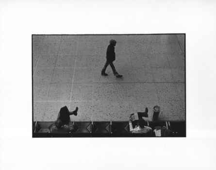 Erich Hartmann, 'A man and two legs, Denver, USA', 1976