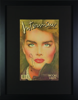 "Andy Warhol, 'Interview Magazine Signed by Andy Warhol ""Brook Shields""', 1984"