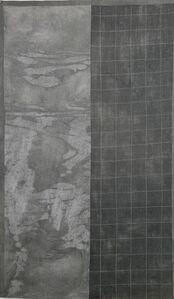 Grace Bakst Wapner, 'Grey Grid', 2019