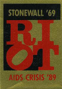 Gran Fury, 'Riot', 1989