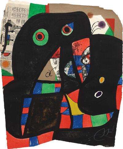 Joan Miró, 'Gaudí XX (D. 1079)', 1979