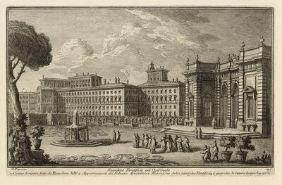 Giuseppe Vasi, 'Giardino Pontificio sul Quirinale', 1747-1801