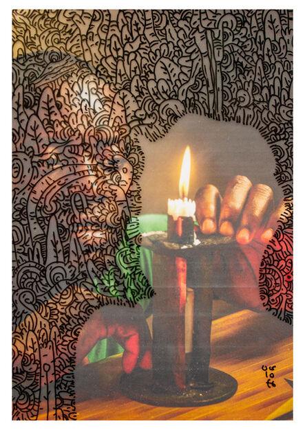 "Uólofe, '""WITCHCRAFT FIRE (TUBIA TUA MULOJI / FOGO DE FEITICEIRO)""', 2020"