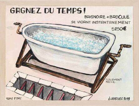 Jacques Charlier, 'Baignoire', 2019